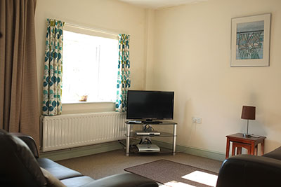 Sitting room - with TV and DVD player